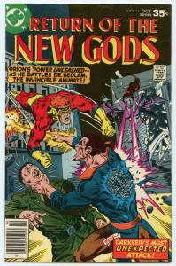 New Gods 14 Oct 1977 VF (8.0)