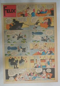 Felix The Cat Sunday Page by Otto Mesmer from 6/2/1940 Size: 11 x 15 inches