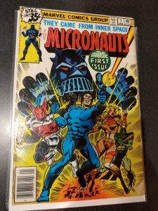 MICRONAUTS #1  1st appearance.