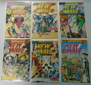 New Wave Eclipse comics lot from:#1-13 all 12 different books 8.0 VF (1986)