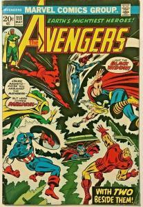 AVENGERS#111 FN/VF 1973 MARVEL BRONZE AGE COMICS