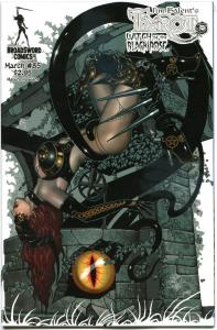 TAROT WITCH of the Black Rose #85, NM, Jim Balent, 2000, Holly Golightly, Femme