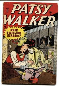 PATSY WALKER #17-1948-HARVEY KURTZMAN-GOOD GIRL ART-vg