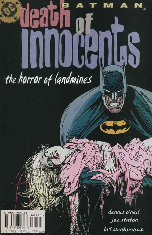 Batman: Death of Innocents #1 VF; DC | save on shipping - details inside