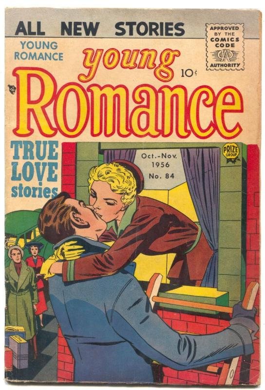 Young Romance #84 1956- JACK KIRBY art-- obscure issue VG+