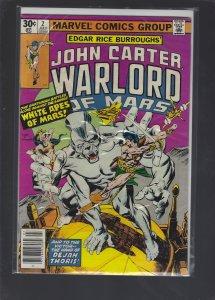 John Carter Warlord of Mars #2 (1977)