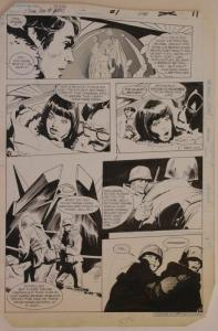 GENE COLAN / KLAUS JANSON original art, JEMM SON of SATURN #1 pg 11, 11x16, 1984
