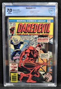 Daredevil #131 (Marvel, 1976) CBCS 7.0 - KEY!