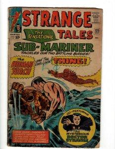 Strange Tales # 125 VG Marvel Comic Book Thing Dr. Strange Mordo Human Torch KD1