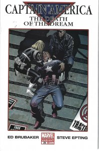 Caption America the death of the Dream 2nd print