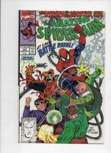 Amazing SPIDER-MAN #338, NM, Sinister Six, 1963 1990, Electro, Sandman