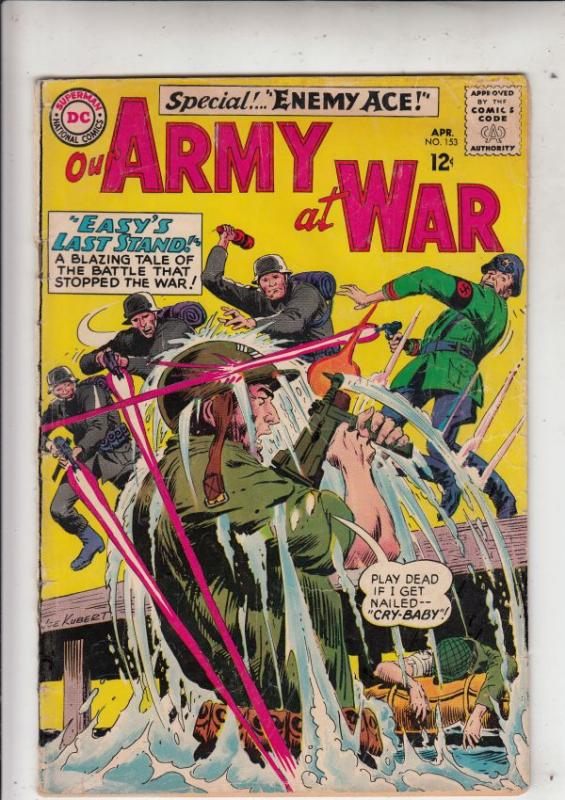 Our Army at War #153 (Apr-65) VG Affordable-Grade Easy Company