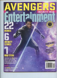 ENTERTAINMENT WEEKLY Collector's Cover: Black Panther - Promo Issue - Cover #7