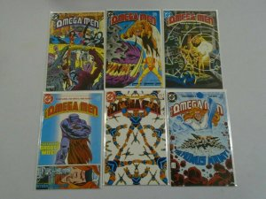 Omega Men lot 17 different from #1-34 8.0 VF (1983-86 1st Series)
