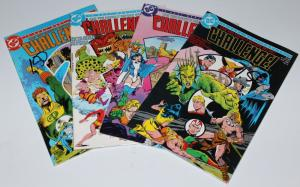 DC MIXED LOT- CHALLENGE #3/4/7/9 VERY FINE/NEAR MINT (SRU649)