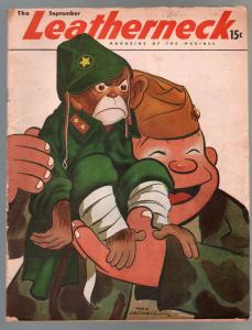 Leatherneck 9/1946-Marines-Fred Lasswell-cartoons-pin-ups-Hashmark-VG