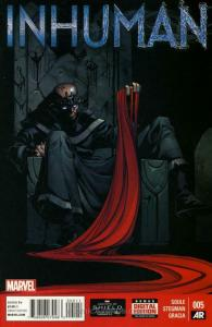 Inhuman #5 VF/NM; Marvel | save on shipping - details inside