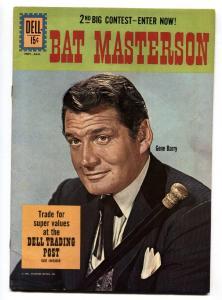 Bat Masterson #9 1961-Dell-Gene Barry TV photo- VF