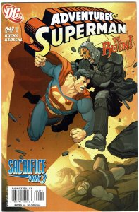 Adventures of Superman #642 NM+