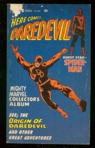 HERE COMES..DAREDEVIL PAPERBACK 1967- SPIDER-MAN MARVEL G