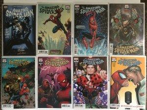 Amazing Spiderman 32 36 37 38 39 Ann. 1 w/ Variants 8 Book Lot
