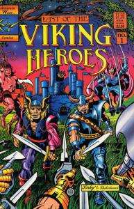 Last of the Viking Heroes, The #1 VF; Genesis West | save on shipping - details