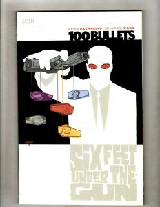 100 Bullets Vol. # 6 Six Feet Under DC Vertigo TPB Graphic Novel Comic Book J324