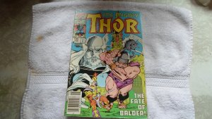 1986 marvel COMICS 25 TH. ANNV. THE MIGHTY THOR. # 368