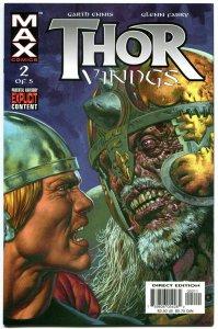 THOR VIKINGS #1 2 3 4 5, NM+, Garth Ennis, Glenn Fabry, Hammer, Thunder,  2003
