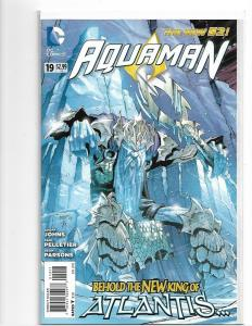 Aquaman #19! 1st First King Nereus, New Movie! (DC New 52) NM/NM+