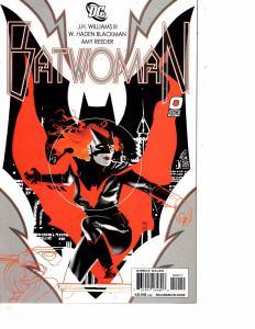 Lot Of 2 Comic Books DC Batwoman #0 and Titans Villains For Hire #1   LH17