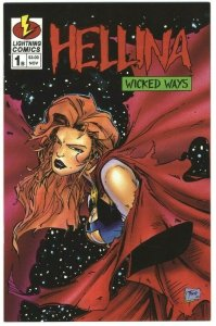 Hellina: Wicked Ways #1B Variant Cover B - Lightning Comics - August 1995