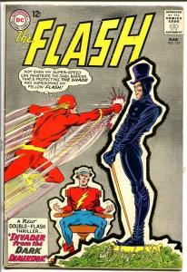 FLASH #151 1965-GOLDEN AGE FLASH COVER & TALE-DC! G/VG