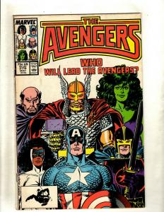 10 The Avengers Marvel Comics #279 300 301 307 309 315 334 336 341 343 J369