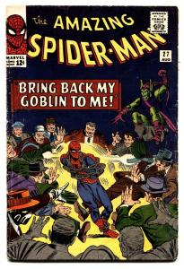 Amazing Spider-Man #27 comic book-Green Goblin-Marvel 1965