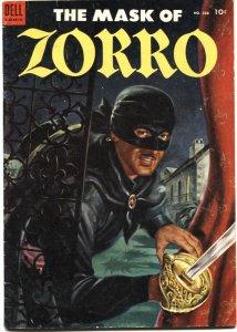 MASK OF ZORRO-FOUR COLOR #538-1954-EVERETT RAYMOND KINSTLER ART