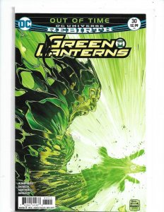 Green Lanterns #30 2016 Rebirth DC Comics NM Uncertified  nw120