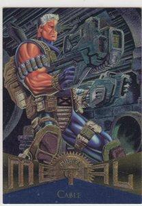 1995 Fleer Marvel Metal CABLE #88  Card