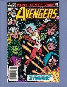 Avengers #232 VF/NM Marvel 1983