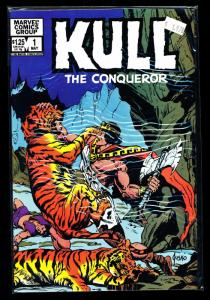 Marvel Comics Group KULL the Conqueror #1 VF/NM (SIC515)