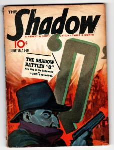SHADOW 1940 June 15 STREET AND SMITH Pulp Magazine
