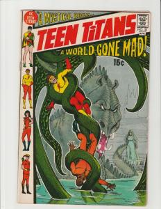 Teen Titans #32 (DC Comics) A World Gone Mad