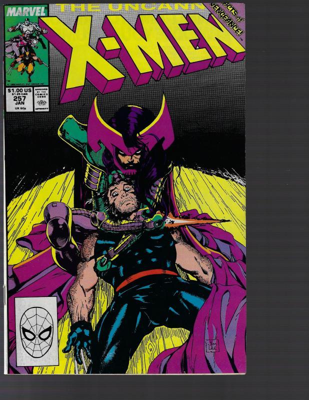 Uncanny X-Men #257 (Marvel, 1990)