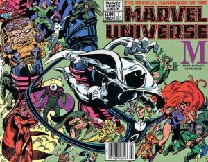 Official Handbook of the Marvel Universe (Vol. 1) #7 VF/NM; Marvel | save on shi