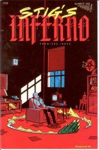 STIGS INFERNO (1984 V) 1 VF-NM TY TEMPLETON COMICS BOOK
