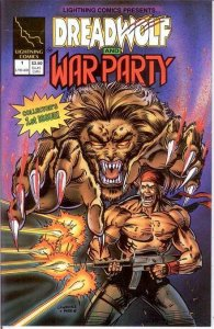 DREADWOLF & WAR PARTY (1994 LIGHTNING) 1 (3.50 CVR; PRO COMICS BOOK