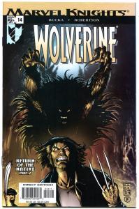 WOLVERINE #14, NM+, X-men, Sabretooth, Rucka, 2003, more in store