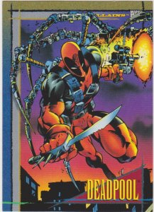 1993 Marvel Universe #28 Deadpool