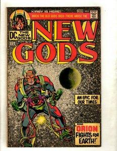 New Gods # 1 VF DC Comic Book Jack Kirby Fourth World Orion Darkseid RS1
