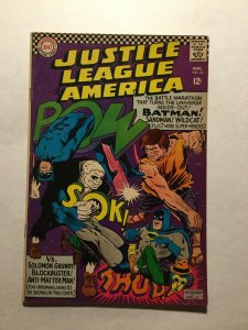 Justice Leaue Of America 46 Fine- Fn- 5.5 1st First Silver Age Sandman Dc Comics